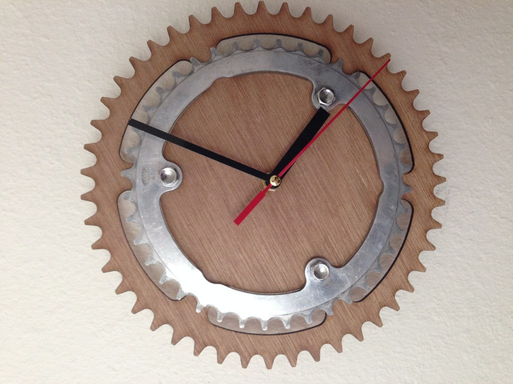 Bike Cog Clock